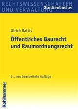Battis öff Baurecht Raumordnungsrecht